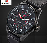 Men's Brand Sports Watch Leather Dress Quartz Wristwatch Vogue Casual Relojes Waterproof Clocks Man (Assorted Colors)
