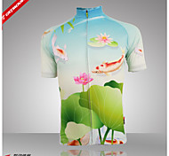 Getmoving Cycling Tops / Customized / Polo Shirt / Jerseys Women's Breathable / Moisture Permeability / Back Pocket / Sweat-wickingShort