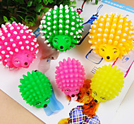 Dog Pet Toys Chew Toy Hedgehog Random Color Rubber
