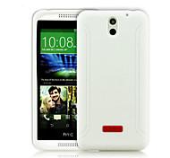 cassa molle xmart® silicone di disegno classico per HTC Desire 610 colori assortiti