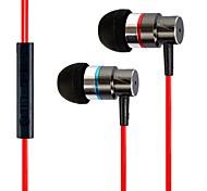 3,5 mm de alta calidad universal de auriculares en la oreja para el iphone / ipod / ipad y otros (140 cm)