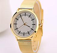 2015 neue Edelstahl-Uhren Gold weiß schwarz 3 Farben Paare Liebhaber Uhren Qualitätsarmband Uhren