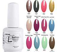 libeine empapa de 15 ml de uñas de gel uv gel del color polaco polaco colores surtidos no.050-061