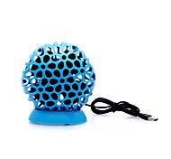 Ball Style USB Powered Mini Desktop 4-Blade Fan