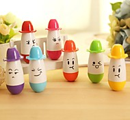Cute Pill With Hat Style BallPoint Pen (Random Color)