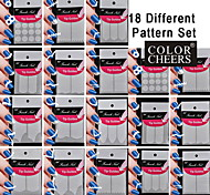 36Set 18 Different Pattern Making Pattern Nail Art Tool