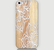 White Flowers Pattern Case Back Cover for Phone4/4S Case