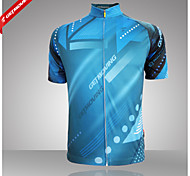 tops Ciclismo - Mulheres/Homens -Respirável/Resistente Raios Ultravioleta/Permeável á Humidade/Zíper Frontal/Design
