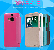 NILLKIN Sparkle Series Flip Ultra-thin PU Leather Cover Shell for HTC M9+(M9PLUS)(Assorted Colors)