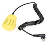 micrófono de mano para motorola walkie talkie