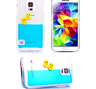 For Samsung Galaxy Case Flowing Liquid Case Back Cover Case Cartoon PC Samsung S5