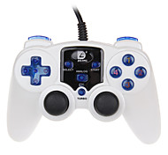 DILONG  PU308 Computer PC Double Vibration Gamepad Support Online