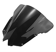 Motorcycle Windshield Wind Shield Screen Black for Yamaha R6 08-09