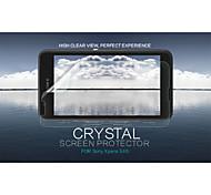 cristal nillkin filme protetor de tela anti-impressão digital clara para Sony Xperia e4g