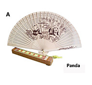 Wood Fan China Characteristics Arts And Crafts