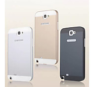 Fashion Special Design High-Grade Metal Back Cover for Samsung Galaxy Note 2 N7100