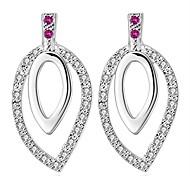 Women's Gorgeous Luxury 925 Silver Plated Earrings