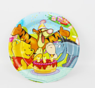 Kids Birthday Party Decorations  Winnie the Pooh Paper Plates 7'' Party Supplies Plates Event Party Supplies 12pcs/lot