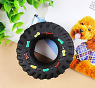 Dog Toy Pet Toys Chew Toy Durable Rubber Black