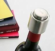acciaio inox bottiglia di vino rosso stoccaggio tappo