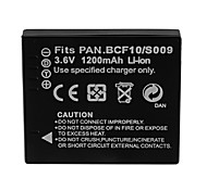 1200mAh Camera Battery Pack for PANASONIC  DMW-BCF10E/S009