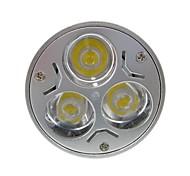 6W GU5.3(MR16) Lâmpadas de Foco de LED MR16 3 LED de Alta Potência 400 lm Branco Quente / Branco Frio DC 12 / AC 12 V 1 pç