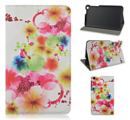 7 Inch Floral Pattern PU Leather Case with Stand for Asus Fonepad 7 FE171MG(Assorted Colors)