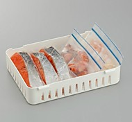 A Refrigerator Storage Box Sundry Food Category Box (Random Color)