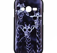 YMX-Cartoon giraffe Pattern Design Pattern Protective Hard Case for Samsung Galaxy Ace 4 G313H