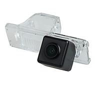 HD Car Rear View Reversing Backup License Plate Lamp Camera for Citroen C4/C5 6V/12V/24V Input Waterproof