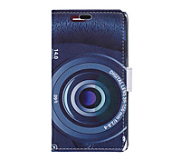 Camera Pattern Full Body Case for Sony Xperia E4G