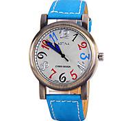 Men's Watch Dress Watch Calendar Quartz Leather Band