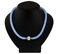 Women's Party/Casual Crystal Stardust Necklace
