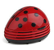 Mini Coccinella Septempunctata Office Table Vacuum Cleaner