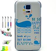 кит рисунок шт Материал телефон случае и перо пыли плагин кронштейн в сборе для Samsung i9600 s5