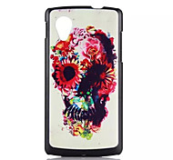 Skull Pattern PC Hard Back Cover Case forLG Nexus 5/E980