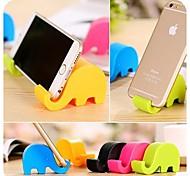 portátil preciosa shape soporte para el iphone 6 / Samsung / otros (colores surtidos)