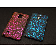 Plastic Material Three-Dimensional Star for Samsung Note 4 (Assorted Colors)