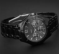New Man's High Quality Steel Belt Quartz Watch
