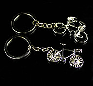 Alloy Bicycle Lovers Key buckle