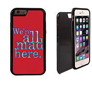 We're Mad Design 2 in 1 Hybrid Armor Full-Body Dual Layer Shock-Protector Slim Case for iPhone 6