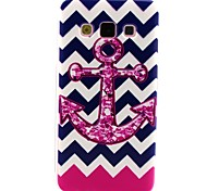 Pink Anchor Pattern TPU Soft Case for Galaxy A7