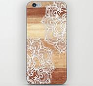 griffonnages bois de datura modèle arrière pour iPhone 5 / 5s