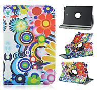 8 inch 360 graden rotatie cirkel patroon stand case voor Samsung Galaxy Tab een 8,0 sm-T350 / T351