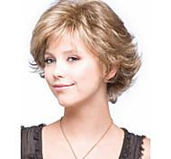новое прибытие парики сексуальные короткие слоистых блондинка парики из синтетических волос для женщин