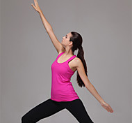 Women's Sleeveless Fit Yoga Tops Breathable/Moisture Permeability/Quick Dry/Static-free/Compression/Lightweight