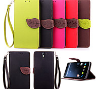 High Quality Wallet Card Holder PU Leather Flip Case Cover for One Plus One (Assorted Colors)