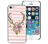 Lovely Elk Design Aluminum Hard Case for iPhone 5C