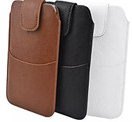 Common PU Material Litchi Plus Outer Bag to Wear a Belt Holster for Samsung Galaxy Note 3 Note 4 S6 A7(Assorted Colors)