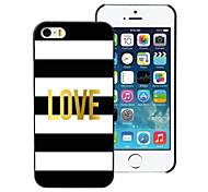 Love Design Aluminum Hard Case for iPhone 5/5S